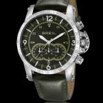 Breil orologi uomo aviator quarzo pelle verde