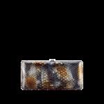 Chanel borsa pochette cluntch pitone