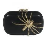 Corto Moltedo borse tarantula black calf