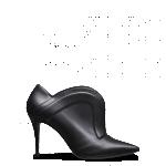 Fendi scarpe donna tronchetto nappa tacco a spillo