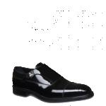Fendi scarpe uomo fibbia laterale pelle vitello