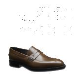 Fendi scarpe uomo mocassino pelle vitello liscia