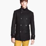 H&M uomo giacca doppio petto nero