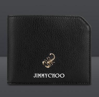Jimmy Choo-accessori-portafogli-uomo-albany-black-scorpion