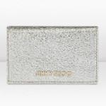 Jimmy Choo accessori portafogli donna nello champagne