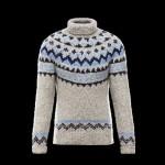 Moncler abbigliamento uomo dolcevita lana jacquard
