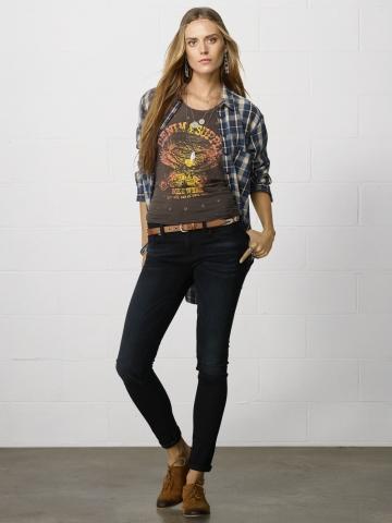 Ralph Lauren abbigliamento donna jeans collezione autunno inverno 2013-2014 bexton
