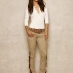 Ralph Lauren abbigliamento donna jeans collezione autunno inverno 2013-2014 tooled