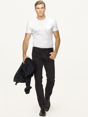 Ralph Lauren abbigliamento uomo jeans collezione autunno inverno 2013-2014 black label