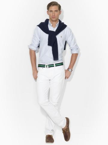 Ralph Lauren abbigliamento uomo jeans collezione autunno inverno 2013-2014 hudson