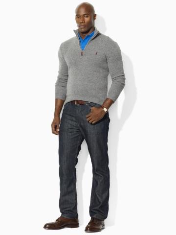 Ralph Lauren abbigliamento uomo jeans collezione autunno inverno 2013-2014 indigo-wash