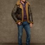 Ralph Lauren giacche uomo dover shearling bomber