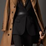 burberry cappotto donna militare doppio cashmere