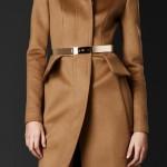burberry cappotto donna sartoriale baschina