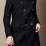 burberry cappotto uomo fustagno marina militare