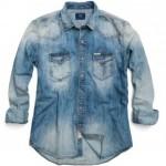 camicie uomo replay denim jeans