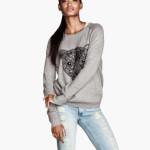 maglie donna pullover maglia sottile grigio