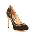scarpe classiche donna ferragamo pelle scamosciata tacco stiletto