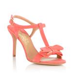 scarpe classiche donna ferragamo sandalo pelle scamosciata fiocco