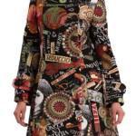cappotti donna desigual collage femina