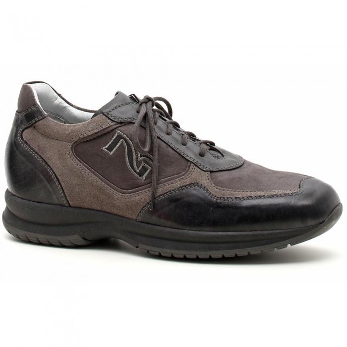 Scarpe uomo nero giardini sneaker pelle ant - Scarpe invernali uomo nero giardini ...