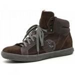 scarpe uomo nero giardini sneaker pelle camoscio piz