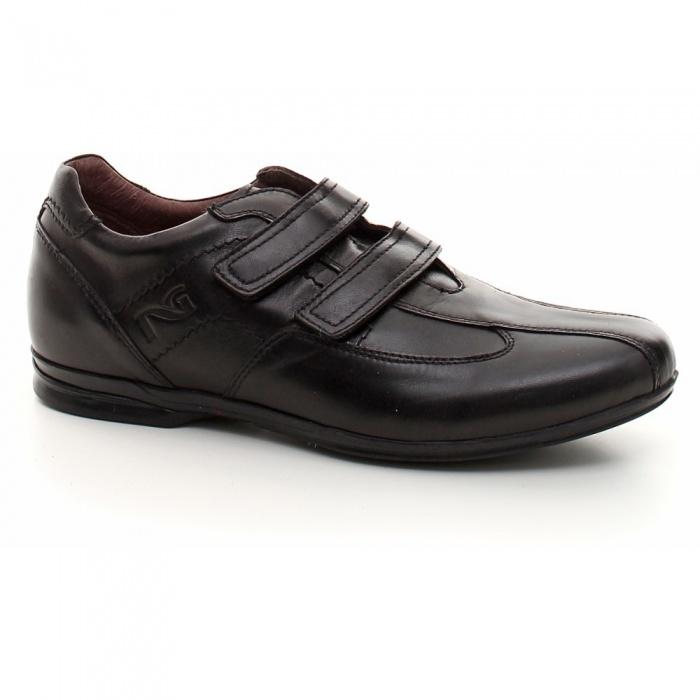 Scarpe uomo nero giardini sneaker pelle strappo - Scarpe invernali uomo nero giardini ...