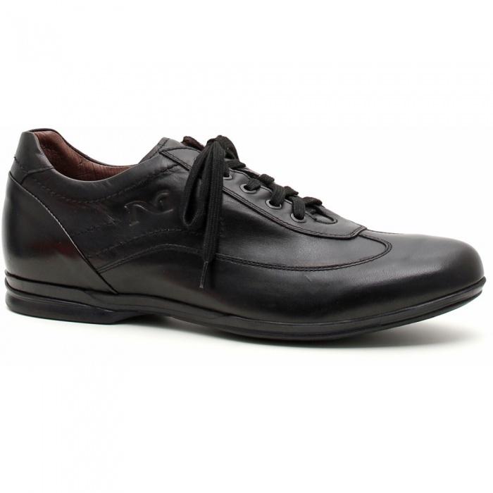 Scarpe uomo nero giardini sneaker pelle - Scarpe invernali uomo nero giardini ...