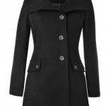 benetton capispalla donna cappotto lana cotta