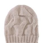 berretto donna hugo boss maglia bianco