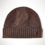 cappelli ralph lauren uomo cuffia cashmere e lana