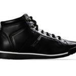 scarpe moschino uomo sneaker alta nero