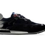 scarpe moschino uomo sneaker blu scuro