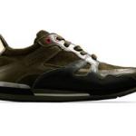 scarpe moschino uomo sneaker verde militare