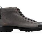 scarpe moschino uomo stivaletto grigio scamosciato