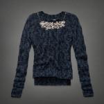 maglia donna abercrombie e fitch ella necklace collezione autunno inverno 2013 2014