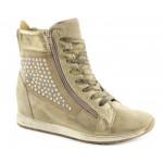 scarpe cafenoir donna sneaker zeppa