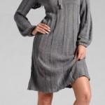 abito donna bonprix grigio