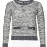 maglia benetton donna girocollo viscosa