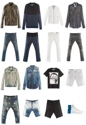 Diesel primavera estate 2014 collezione moda uomo