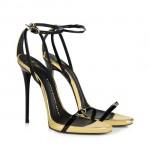 scarpe donna giuseppe zanotti sandali vernice specchiata
