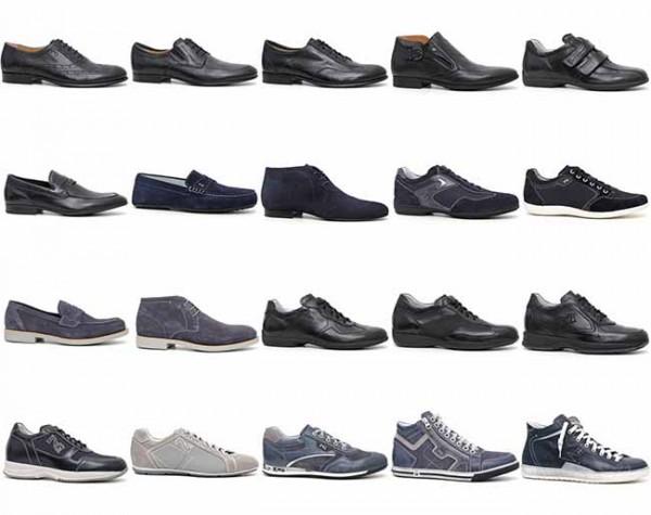 scarpe uomo nero giardini primavera estate 2014