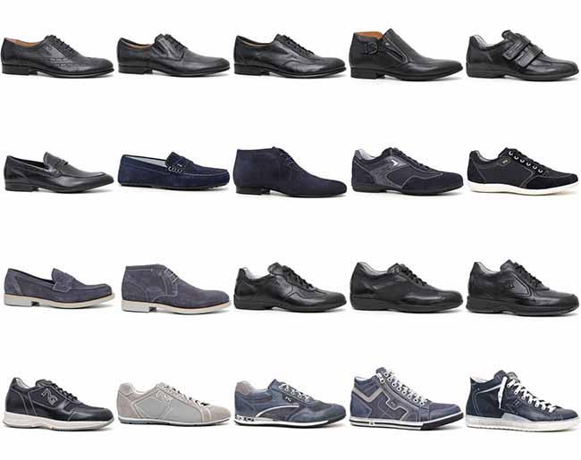 design unico Prezzo del 50% ampia selezione di design scarpe eleganti uomo nero giardini