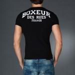t-shirt boxeur uomo scollo v