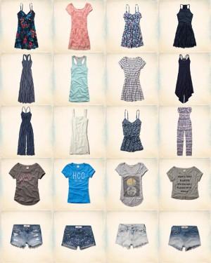 hollister abbigliamento donna estate 2014