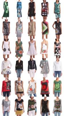 moda donna estate 2014 desigual