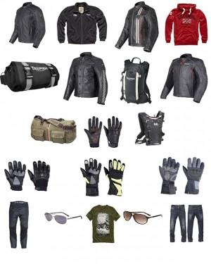 abbigliamento triumph motorcycle 2014