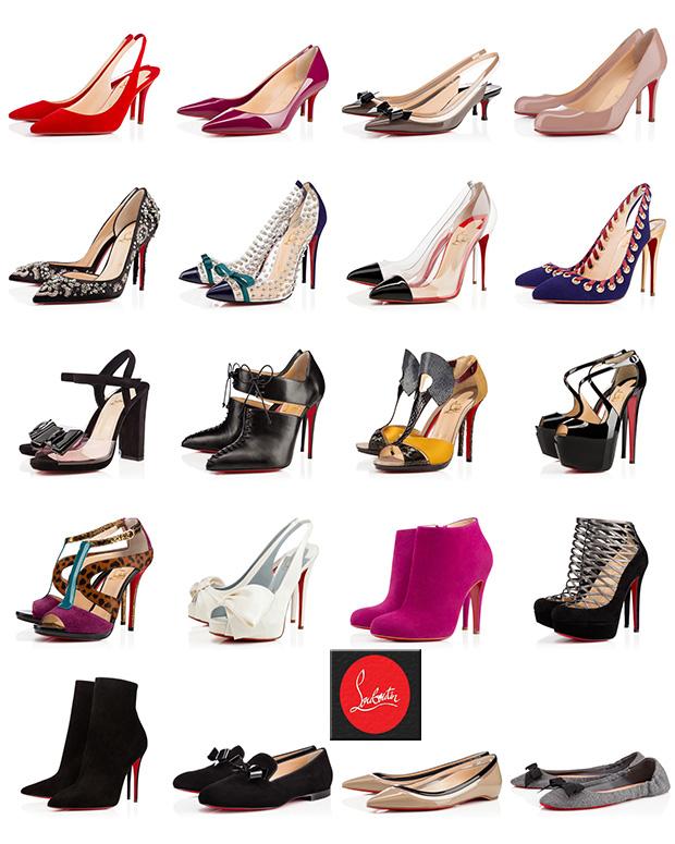 scarpe simili alle louboutin