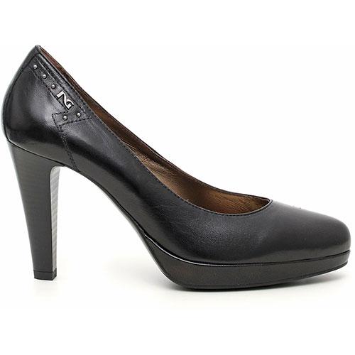 Scarpe nero giardini donna decollete pelle nero - Decollete nere nero giardini ...