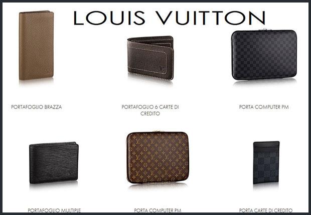 Louis Vuitton Portafoglio Uomo